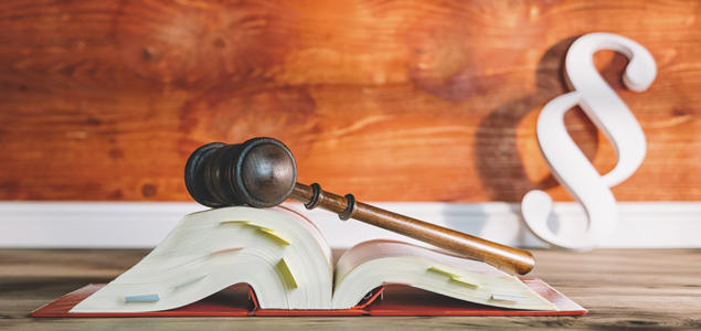 Paragraftegn og lovbok