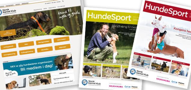 Nettside og Hundesport
