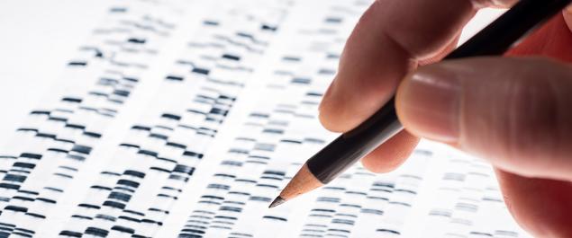 DNA-forskning illustrasjonsfoto