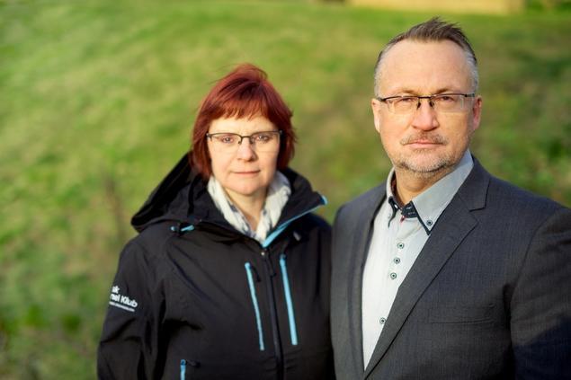 Administrerende direktør Torbjørn Brenna og assisterende direktør Marianne Ono Njøten