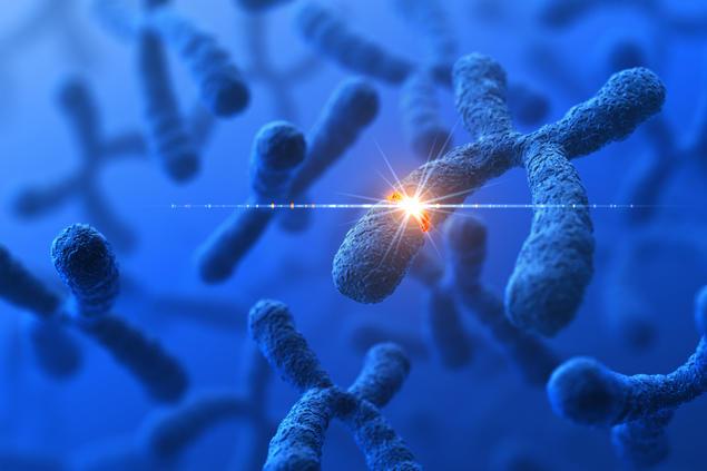 Illustrasjon DNA